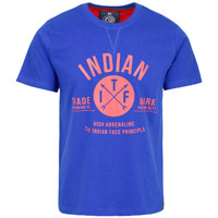 Vêtements Homme T-shirts manches courtes The Indian Face Tee Shirt LENNY bleu