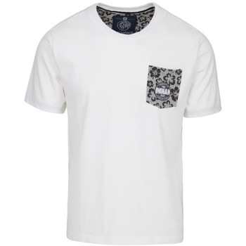 Vêtements Homme T-shirts manches courtes The Indian Face Tee Shirt EDEN blanc