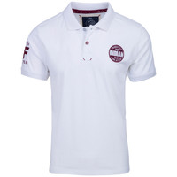 Vêtements Homme Polos manches courtes The Indian Face Polo DAVID blanc