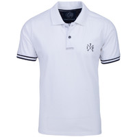 Vêtements Homme Polos manches courtes The Indian Face Polo MAHE blanc