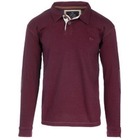Vêtements Homme Polos manches longues The Indian Face Polo LORIS bordeaux