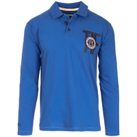 Vêtements Homme Polos manches longues The Indian Face Polo AMAURY bleu