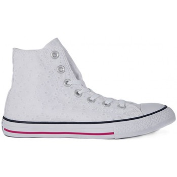 Chaussures Enfant Baskets montantes Converse ALL STAR HI COTTON EVELT Bianco