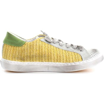 Chaussures Femme Baskets basses 2 Stars 2SD1429 Basket Femme Yellow/Ice Yellow/Ice