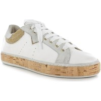 Chaussures Femme Baskets basses Manas Baskets- Blanc