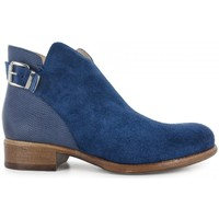 Chaussures Femme Bottines Manas Bottines- Bleu