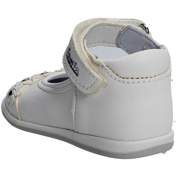 Chaussures Fille Ballerines / babies Melania ME0121A7E.B Ballerines Fille Blanc Blanc