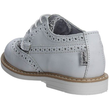 Chaussures Fille Mocassins Melania ME2061D7E.A Inglesina Fille Cuir/glitter  Blanc Blanc