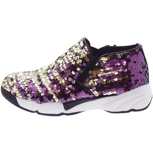 Chaussures Femme Baskets basses Uma Parker 708/4 Doré
