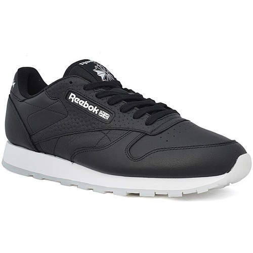 Chaussures Homme Baskets basses Reebok Sport Classic Leather ID Noir-Blanc