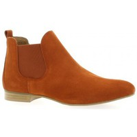 Chaussures Femme Boots We Do Boots cuir velours  brique Brique