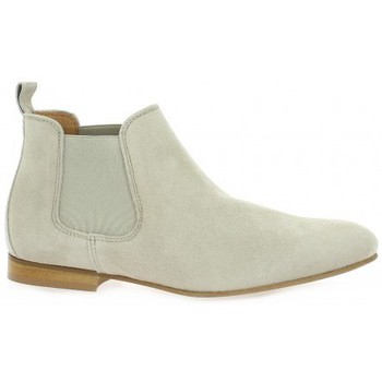 Chaussures Femme Boots So Send Boots cuir velours Beige