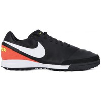Chaussures Homme Football Nike Tiempo Mystic V TF Noir-Rouge