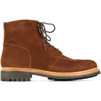 Chaussures Femme Baskets montantes Grenson Shoes Chaussures Boots  Grover Suede Marron Homme Marron