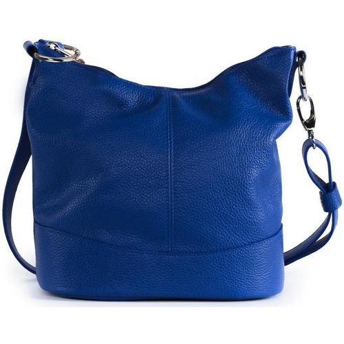 Sacs Femme Sacs porté épaule Oh My Bag Sac à main femme en cuir - Modèle Beaubourg bleu roi BLEU ROI