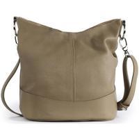 Sacs Femme Sacs porté épaule Oh My Bag Sac à main femme en cuir - Modèle Beaubourg taupe clair TAUPE CLAIR