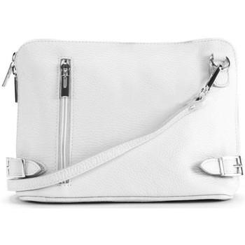 Sacs Femme Sacs Bandoulière Oh My Bag Sac à main bandoulière en cuir femme - Modèle Mia blanc BLANC