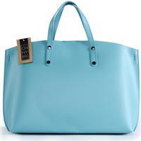 Sacs Femme Sacs porté main Oh My Bag Sac à Main en cuir glacé femme - Modèle CHANTILLY bleu lagon LAGON