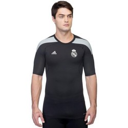 Vêtements Homme T-shirts manches courtes adidas Originals Techfit Real Madryt Kompresyjna Termoaktywna Noir