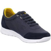 Chaussures Homme Baskets basses Geox MDAMIAN4 Low Bleu