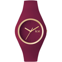 Montres & Bijoux Femme Montres Analogiques Ice-watch Montre Ice Watch Bracelet Silicone Rose