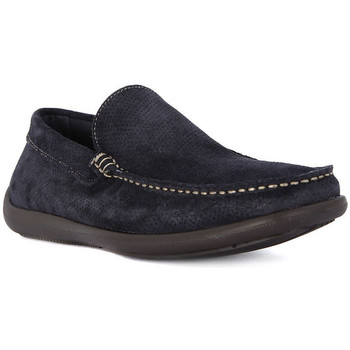Chaussures Homme Mocassins Frau CASTORO BLU Blu