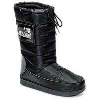 Chaussures Femme Bottes de neige Love Moschino JA24212G04 Noir