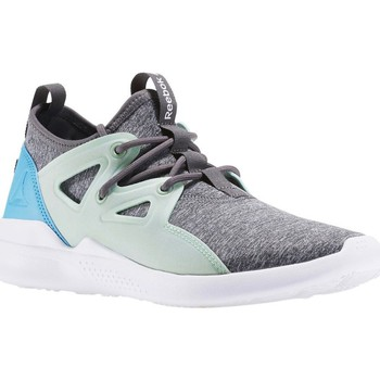 Chaussures Femme Running / trail Reebok Sport Cardio Motion Turquoise-Blanc-Gris