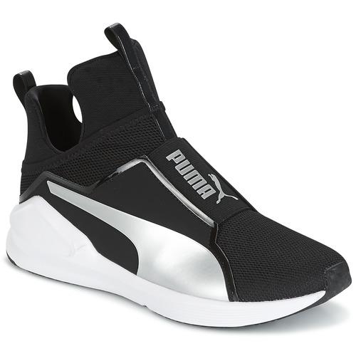 puma fierce core noir livraison gratuite avec chaussures basket montante femme. Black Bedroom Furniture Sets. Home Design Ideas