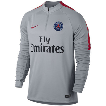Vêtements Enfant T-shirts manches courtes Nike Paris Saint Germain drill top Junior Wolf Grey / university Red