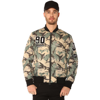 Vêtements Femme Vestes Jack & Jones Veste, Blouson HOMME - JORRIOT CAMO BOMBER JKT_TIGER EYE Multicouleurs