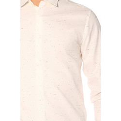 Vêtements Femme Chemises / Chemisiers Jack & Jones Chemise HOMME - RASMUS SHIRT LS PLAIN_WHITE/SLIM FIT Blanc