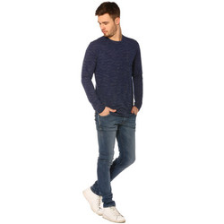 Vêtements Femme T-shirts manches longues Project X T-shirt Homme - LONG SLEEVED TSHIRT 88162219_BL BLEU Bleu