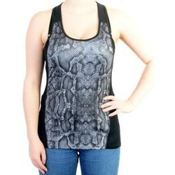 Vêtements Femme Débardeurs / T-shirts sans manche Desigual Tee Shirt Fun Tank Negro Noir