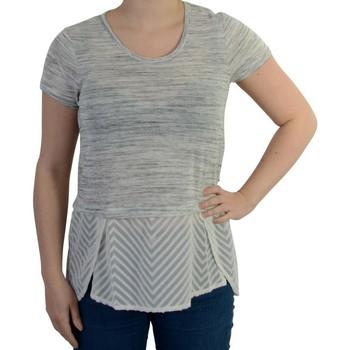 Vêtements Femme Tops / Blouses Le Temps des Cerises T-shirt  Camorra Light Ash grey Gris