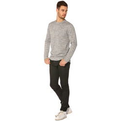 Vêtements Femme T-shirts manches longues Project X T-shirt Homme - LONG SLEEVED TSHIRT 88162219_DG GRIS Gris