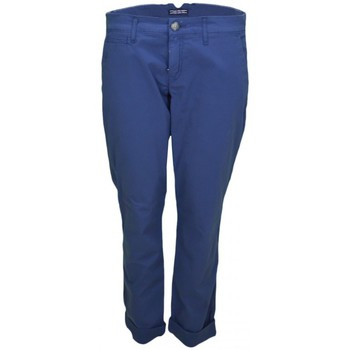Vêtements Femme Pantalons Tommy Hilfiger Chino  Janet bleu marine pour femme Bleu