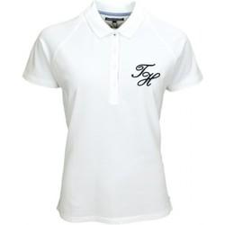 Vêtements Femme Polos manches courtes Tommy Hilfiger Polo  Michelle blanc pour femme Blanc