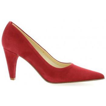 Chaussures Femme Escarpins Elizabeth Stuart Escarpins cuir velours rouge
