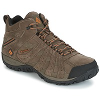 Chaussures Homme Randonnée Columbia REDMOND MID LEATHER OMNI-TECH Taupe