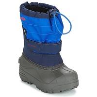 Chaussures Enfant Bottes de neige Columbia CHILDRENS POWDERBUG PLUS II Marine