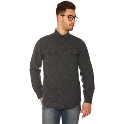 Vêtements Femme Chemises / Chemisiers Jack & Jones Chemise HOMME - YORK SHIRT LS CPO_TOTAL ECLIPSE/SLIM Bleu