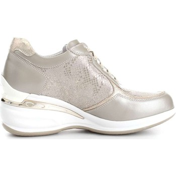 Chaussures Femme Baskets basses Nero Giardini P717050D Basket Femme Luxury Platino Luxury Platino