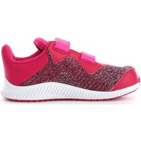Chaussures Enfant Baskets basses adidas Originals BA9461  Fille Dark Pink Dark Pink
