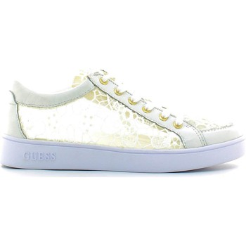 Chaussures Femme Baskets basses Guess FLGLN1 LAC12 Sneakers Femmes Bianco Bianco