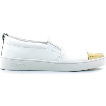 Chaussures Femme Slips on Guess FLGNN1 LEM12 Slip-on Femmes Blanc Blanc