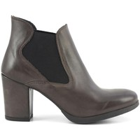 Chaussures Femme Bottines Caf㨠Noir  048 T.MORO