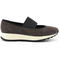 Chaussures Femme Baskets basses Caf㨠Noir  273 TAUPE