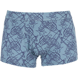 Vêtements Homme Boxers / Caleçons Vivienne Westwood Homme All Over Logo Motif Trunks, Bleu bleu