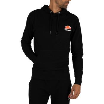 Vêtements Homme Sweats Ellesse Sweat à capuche gauche avec logo noir